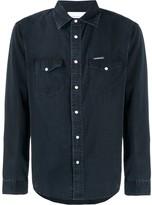 Calvin Klein Jeans faded canvas shirt