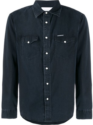 Calvin Klein Jeans Faded Canvas Shirt