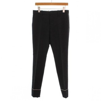 Gucci Black Cloth Trousers for Women