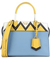 Prada Esplanade Zigzag leather tote