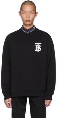Burberry Black Dryden Sweatshirt
