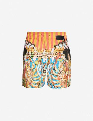 Amiri Jimi Hendrix graphic-print swim shorts