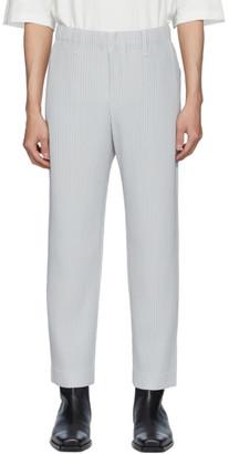 Issey Miyake Homme Plisse Grey Basics Trousers