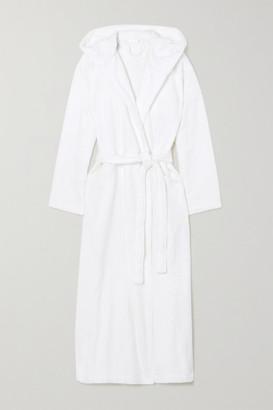 Skin Hamam Belted Cotton-terry Robe - White