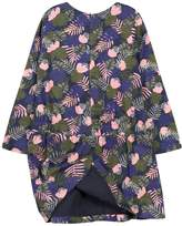 Jean Bourget Floral Crewneck Dress