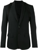 Givenchy harness detail blazer - men - Polyester/Viscose/Mohair/Wool - 48