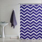 Dormify Chevron Stripe Shower Curtain