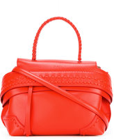 Tod's woven stitch tote bag