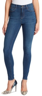 Skinnygirl Women's Paul High-Rise Skinny Jeans