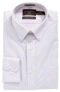 Black Brown 1826 Regular Fit Checkered Button-Down Shirt