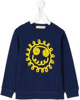 Stella McCartney smiley sweatshirt