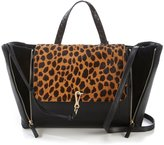 Vince Camuto Blena Leopard-Print Haircalf Tote
