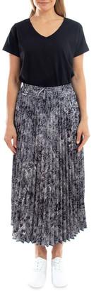 Jump Python Pleated Skirt