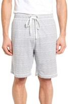 Daniel Buchler Men's Feeder Stripe Pima Cotton & Modal Lounge Shorts