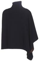 Marni Asymmetrical wool-blend poncho