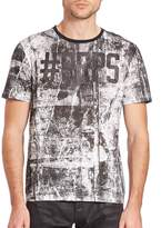 PRPS Men's Logo Printed Tee