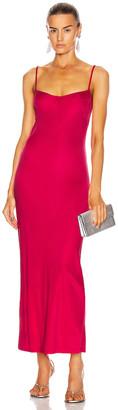 Galvan Berlin Bustier Dress in Hot Pink | FWRD
