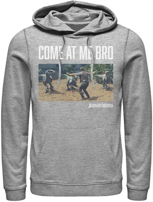 Boys 8-20 Jurassic World Come At Me Bro Movie Still Pullover Hoodie