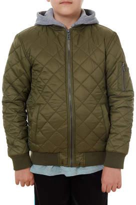 Px Clothing Fleece Hooded Nylon Jacket, sizes 8-20