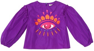 Kenzo Kids Embroidered blouse