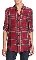 Lauren Ralph Lauren Petite Plaid Twill Shirt