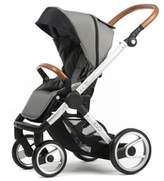 Mutsy Evo Urban Nomad Stroller in Silver/Light Grey