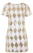 Rare **Herlequin Sequin Shift Dress