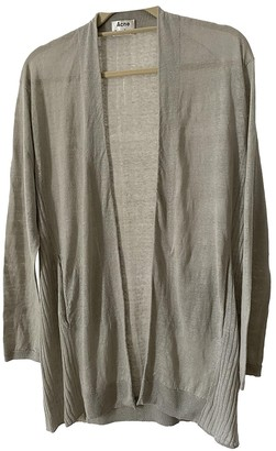 Acne Studios Grey Linen Knitwear for Women