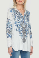 Biya by Johnny Was Peotry Tunic Blouse