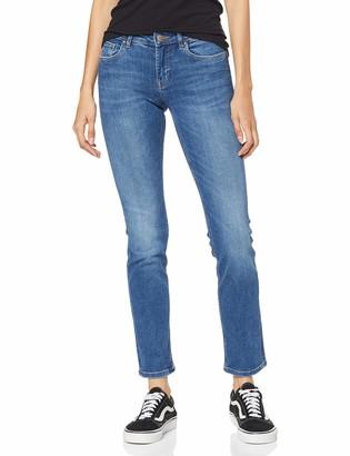 Only Women's Onlfeva Reg Slim Bb Soo732ab Noos Straight Jeans