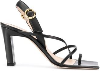 Wandler Block Heel Sandals