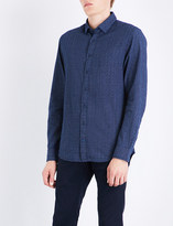 Tommy Hilfiger Elim geo-print regular-fit cotton shirt