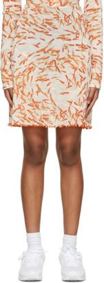 PRISCAVera White A-Line Briefs Skirt