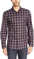 Vince Camuto Men's Long Sleeve Spread Collar Shirt