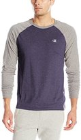 Champion Men's Vapor Cotton Long-Sleeve T-Shirt