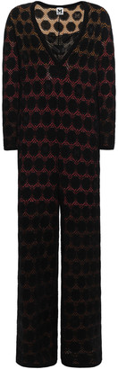 M Missoni Wool-blend Jacquard Jumpsuit