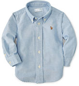 Ralph Lauren Boy Blake Cotton Oxford Shirt