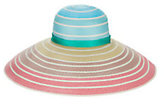 Missoni Rainbow Ombré Wide Brim Hat