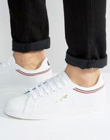 Fred Perry Sidespin Leather Trainers