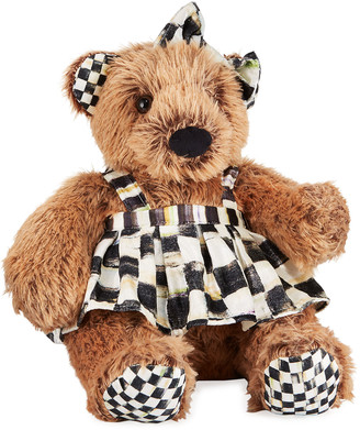 Mackenzie Childs MacKenzie-Childs Kenzie the Bear Stuffed Teddy Bear