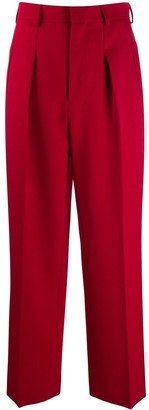 AMI Paris Straight Tailored Trousers