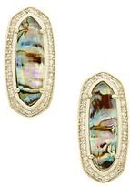 Kendra Scott Aston Stud Earrings in Abalone Shell