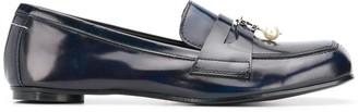 MM6 MAISON MARGIELA Pearl-Embellished Loafers