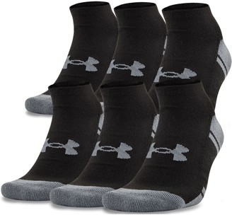 Under Armour Men's UA Resistor III No Show Socks - 6-Pack