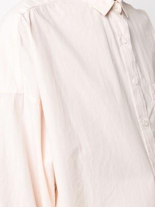 Closed Patch Pocket Oversized Shirt