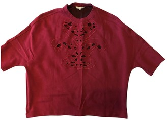 Carven Red Cotton Top for Women