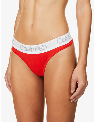 Calvin Klein Pride stretch-cotton pack of five thongs