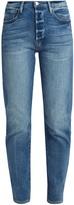 Frame Le Original straight-leg step-hem jeans