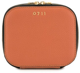0711 Terracotta Medium Ela Cosmetic Bag