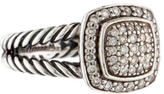 David Yurman Pavé Diamond Petite Albion Ring
